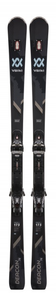 Völkl Deacon 74 Pro Black Ski inkl. XCOMP 16 Bindung