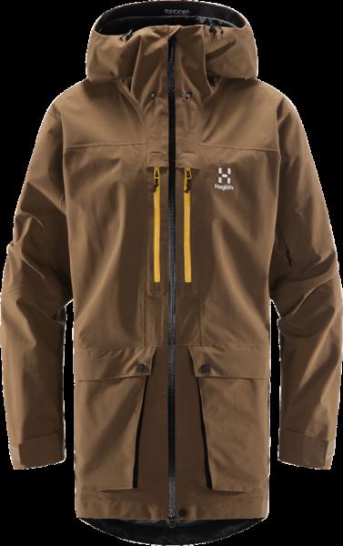 Haglöfs Elation GTX Ski Jacke Herren (Teak Brown)