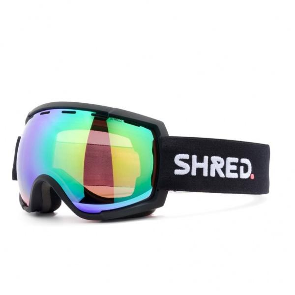 Shred RARIFY SCHWARZ CBL PLASMA MIRROR VLT 15% Ski Brille