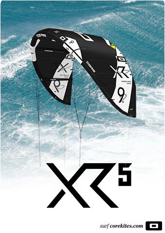 Core XR5 Kite Black