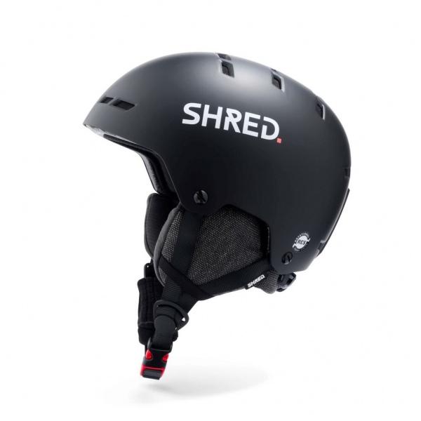 Shred TOTALITY NOSHOCK SCHWARZ Ski Helm