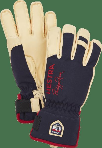 Hestra Philippe Raoux Ecocuir Short 5- Finger Ski Handschuhe