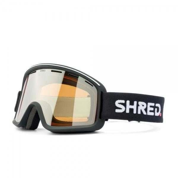Shred MONOCLE SCHWARZ SILBER VLT MIRROR23% Ski Brille