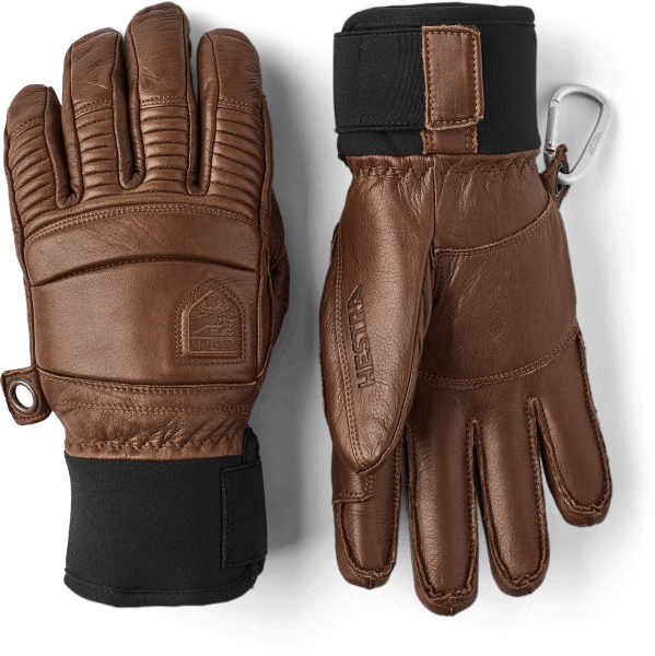 Hestra Leather Fall Line 5-Finger Ski Handschuhe