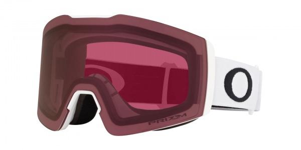 Oakley Fall Line M (Matte White) Ski Brille