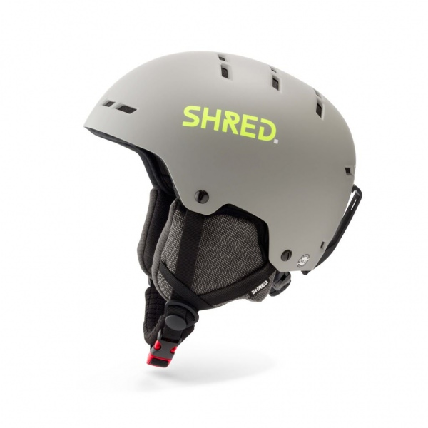 Shred TOTALITY NOSHOCK GRAU/GELB Ski Helm