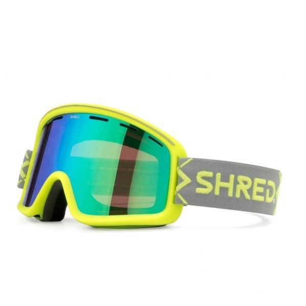 Shred MONOCLE BIGSHOW GELB CBL PLASMA MIRROR VLT 16% Ski Brille