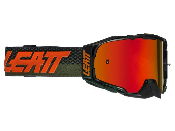 Leatt Velocity 6.5 Iriz Goggle (Cactus Red)