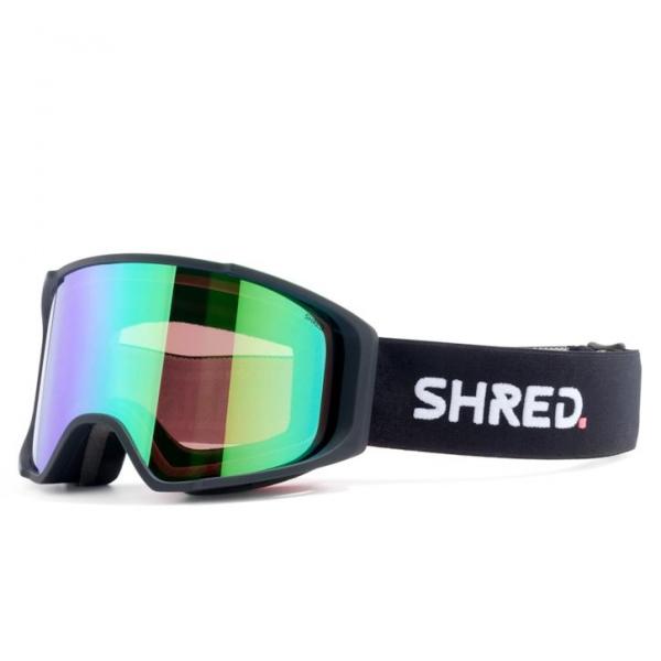 Shred SIMPLIFY SCHWARZ CBL PLASMA VLT MIRROR15% Ski Brille