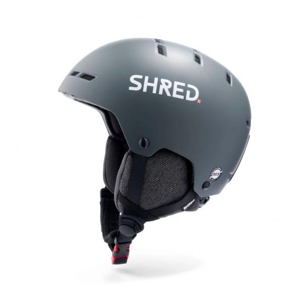 Shred TOTALITY NOSHOCK GRAU Ski Helm